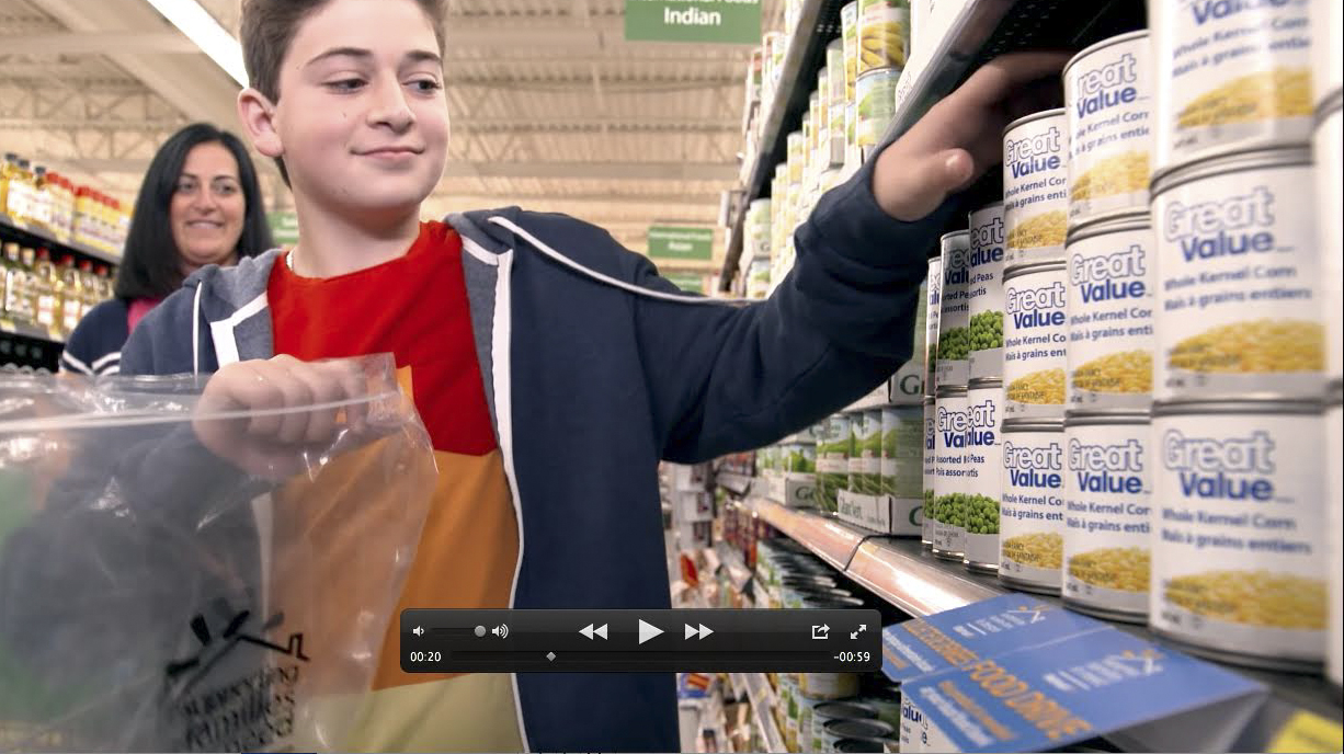 Wallmart Foodbank Video - Sugar Media Inc. Toronto